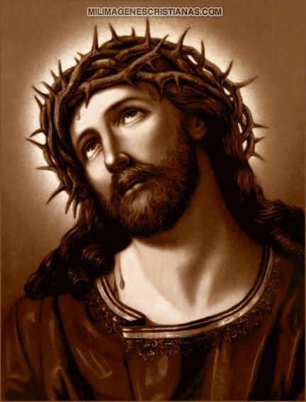 imagenes de jesus con la corona de espinas