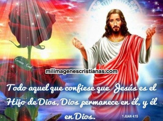 imágenes cristianas Jesús es el hijo de Dios