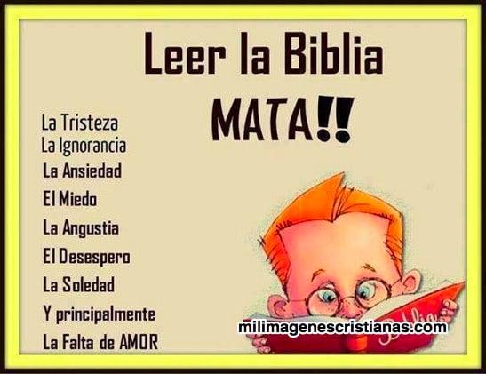 imagenes cristianas leer la biblia