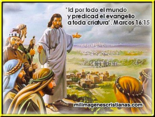 imágenes cristianas marcos 16:15