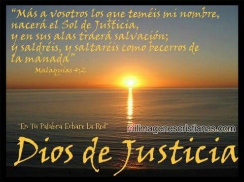 Im genes cristianas dios de justicia for Que es el ministerio de interior y justicia