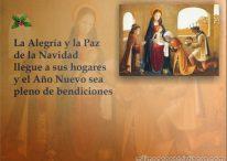 Imágenes cristianas de Navidad: Que la alegría y la paz de la Navidad llegue a sus hogares