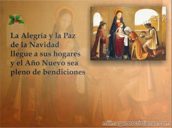 imagenes con frases de navidad cristianas