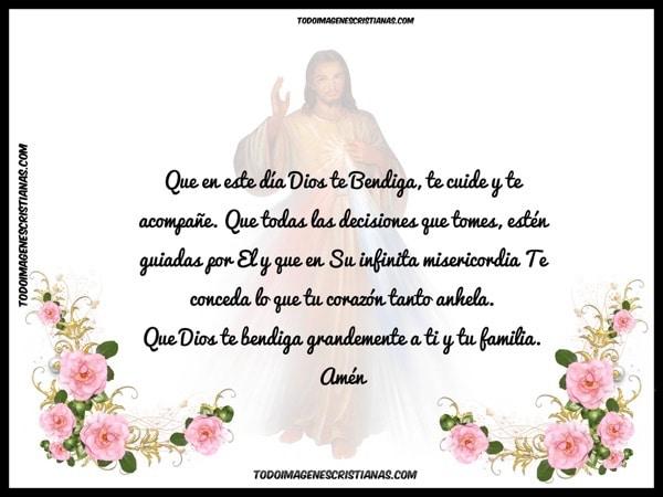 oracion cristiana para amigos y familiares