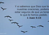 Dios oye todas nuestras oraciones